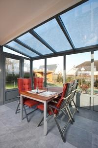 Aluminium veranda plaatsen door expert.